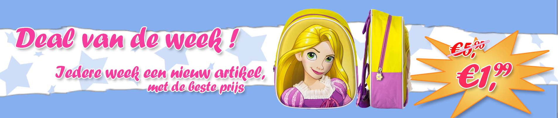 Princess Rugzak Groothandel
