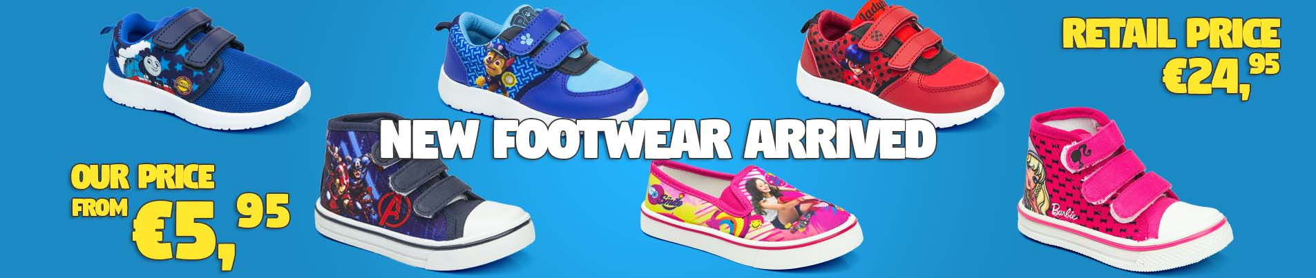 Wholesale licensed shoes for children.